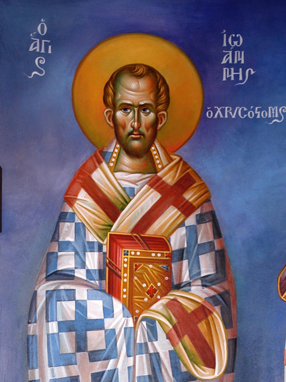 Life of St. John Chrysostom – St. John Chrysostom Church